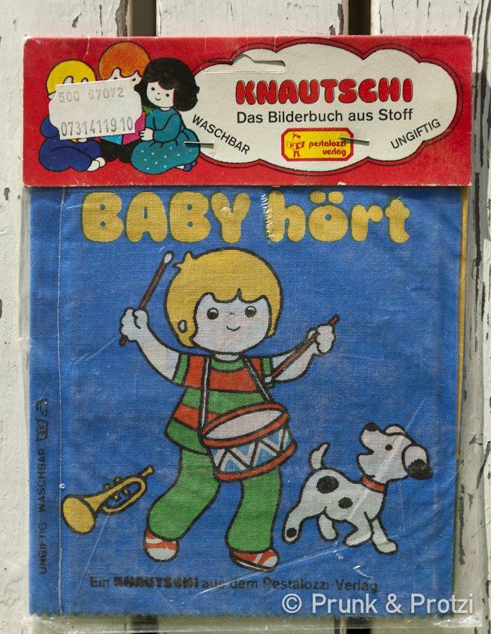 Knautschi Brimax - Bilderbuch aus Stoff von 1981