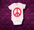 Baby Body kurzarm - Amerika - 3-6 Monate - Girl