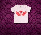 Baby Shirt kurzarm - Fluegel - 0-3 Monate - Girl