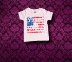 Baby Shirt kurzarm - Amerika - 0-3 Monate - Girl