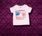 Baby Shirt kurzarm - Amerika - 3-6 Monate - Girl