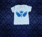 Baby Shirt kurzarm - Flügel - 0-3 Monate - Boy