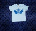 Baby Shirt kurzarm - Flügel - 3-6 Monate - Boy