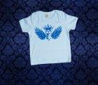 Baby Shirt kurzarm - FLÜGEL - 6-12 Monate - Boy