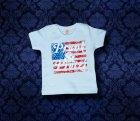 Baby Shirt kurzarm - America - 3-6 Monate - Boy