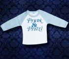Baby Shirt Baseball langarm - P&P - 6 Monate - Boy