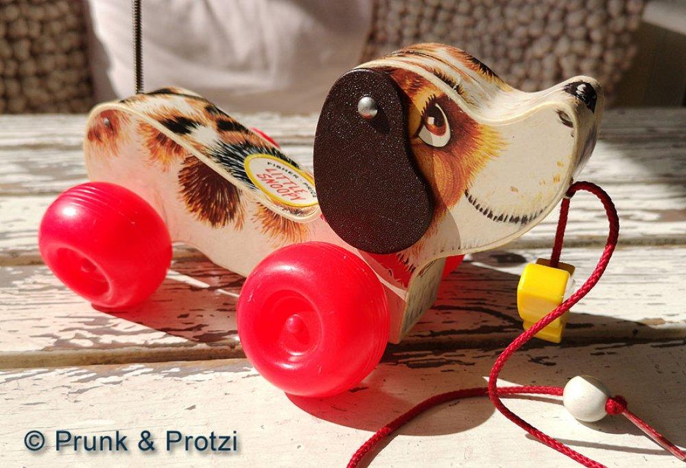 Fisher Price Little Snoopy - RARITÄT Hund 1965